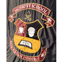 Crest for All Boys High School in Salisbury, CT