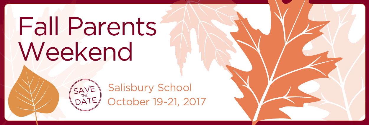 Salisbury Boys School Parents Weekend